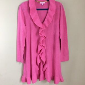 Lilly Pulitzer Lindsay Cashmere Cardigan size L